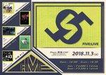 FIVE:LIVE(20181103@新宿FNV)